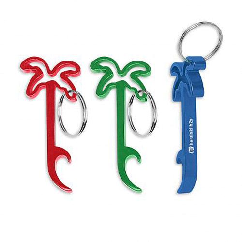porte clés décapsuleur palmier publicitaire personnalisé