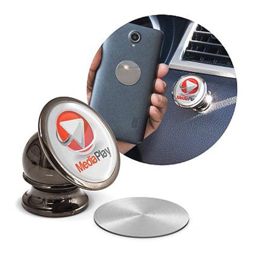 support téléphone voiture personnalisé