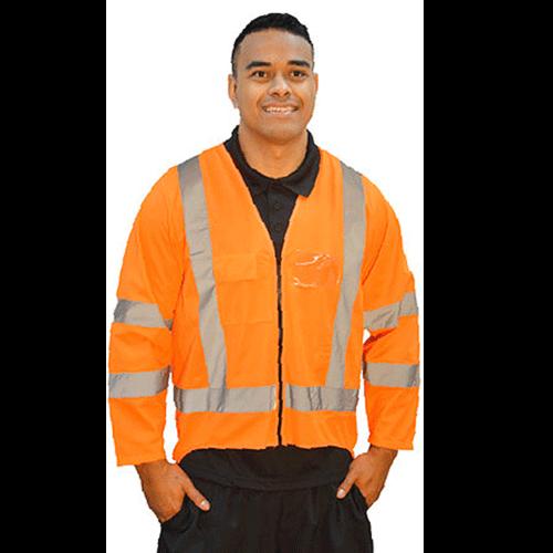vêtement veste bande réfléchissante sécurité personnalisé