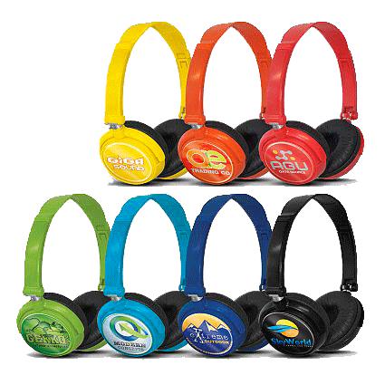 casque audio publicitaire personnalisé