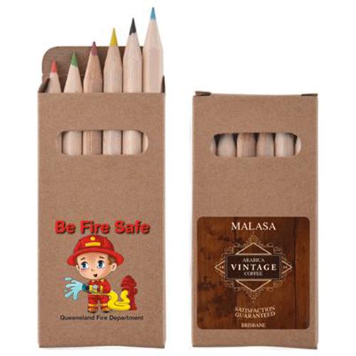 pochette crayon de couleur personnalisé
