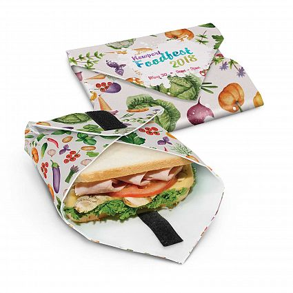 pochette Sandwich lavable réutilisable personnalisé