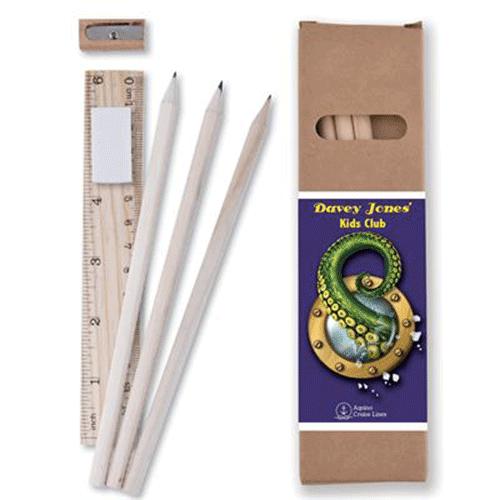 crayon règle et taille crayon bois publicitaire personnalisé